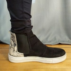 Topshop pull on hightops